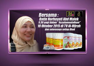 RD Beauty di TV Hijrah Oktober 2015 - Oktober 2017