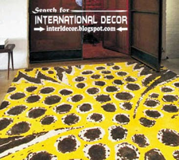 Traditional printed carpet patterns, patterned carpets and rugs, yellow carpets
