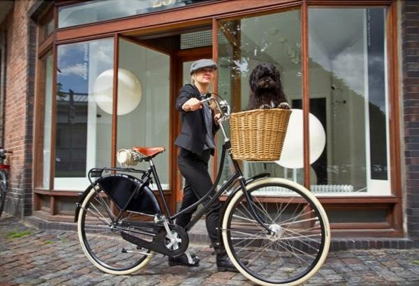 Bicicleta para mujer, estilo retro Kopenhagen Lady de Velorbis