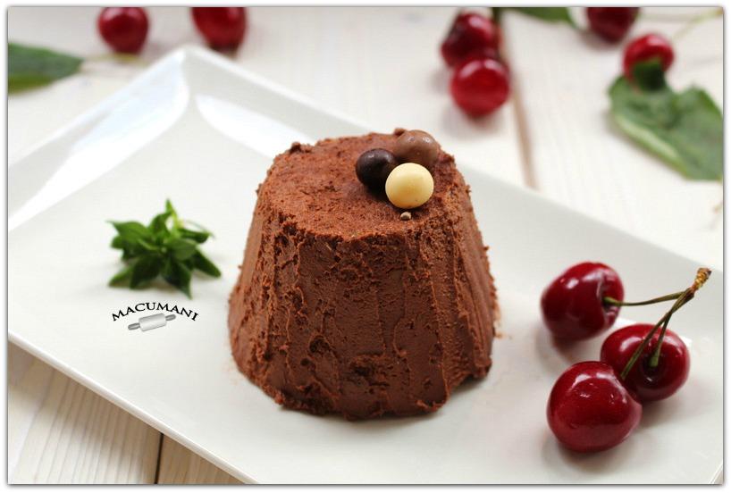 SEMIFRIO DE CHOCOLATE FACIL . MACUMANI