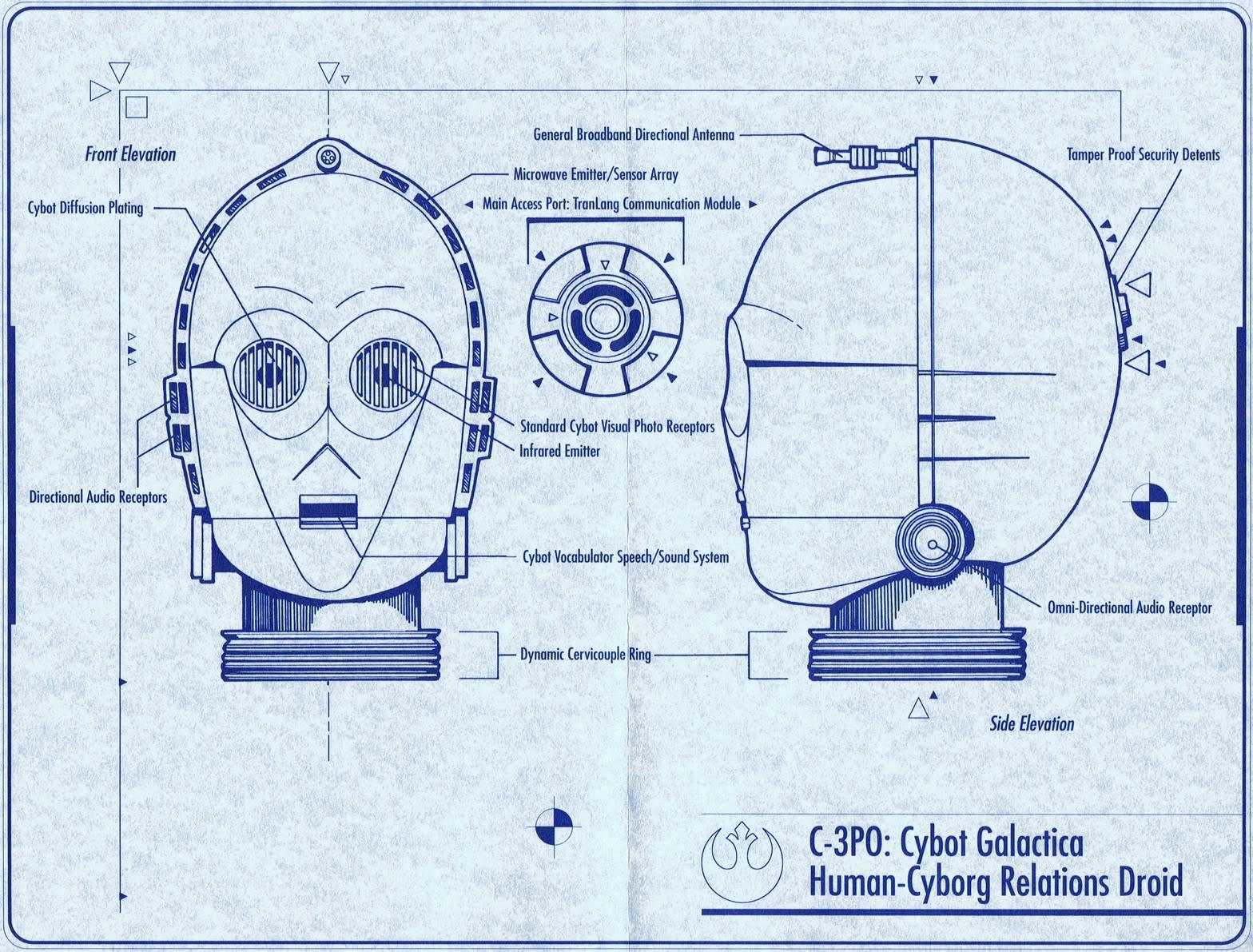 3po Blueprints f...C 3po Quotes