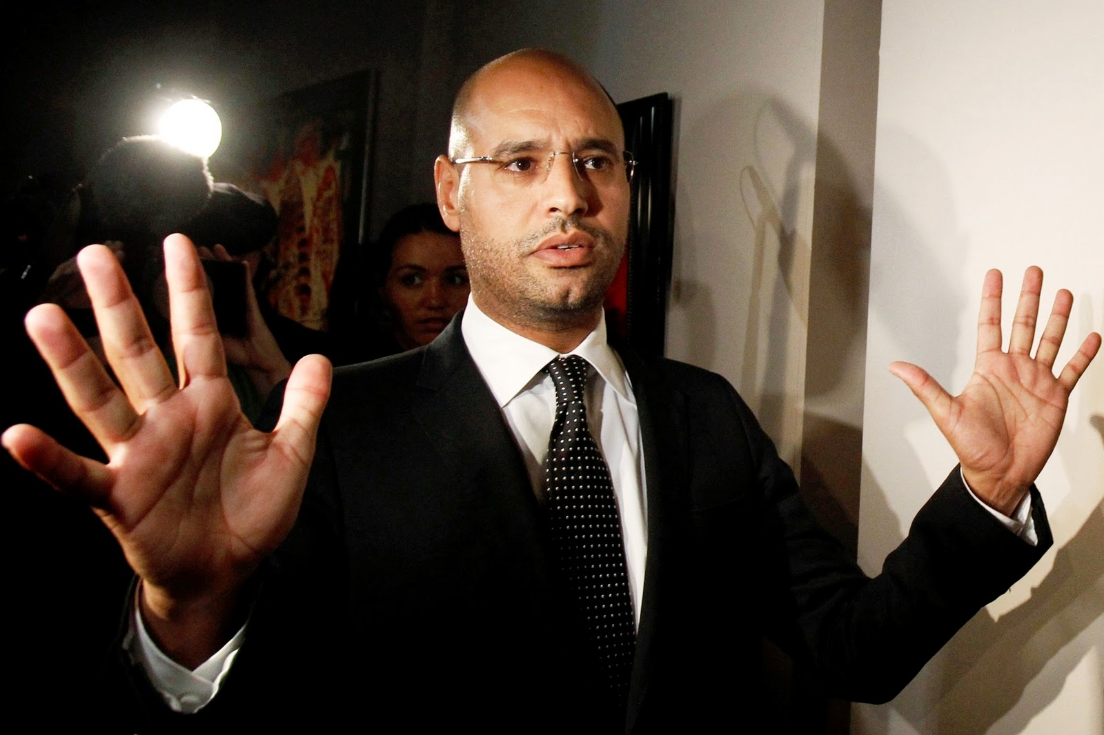 SAIF AL-ISLAM GADDAFI - Into the hands of the 2nd son of Colonel Gaddafi  Saif+Al-Islam+Gaddafi