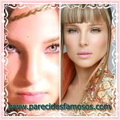 Parecido Belinda y Elsa Pataky