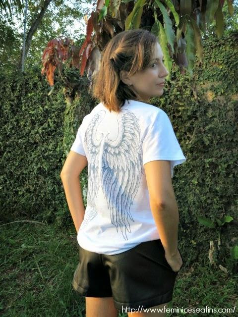 Camiseta Angel Popi Alexandre