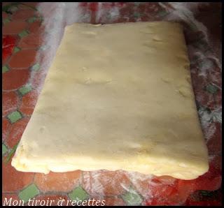 tourage pâte feuilletée