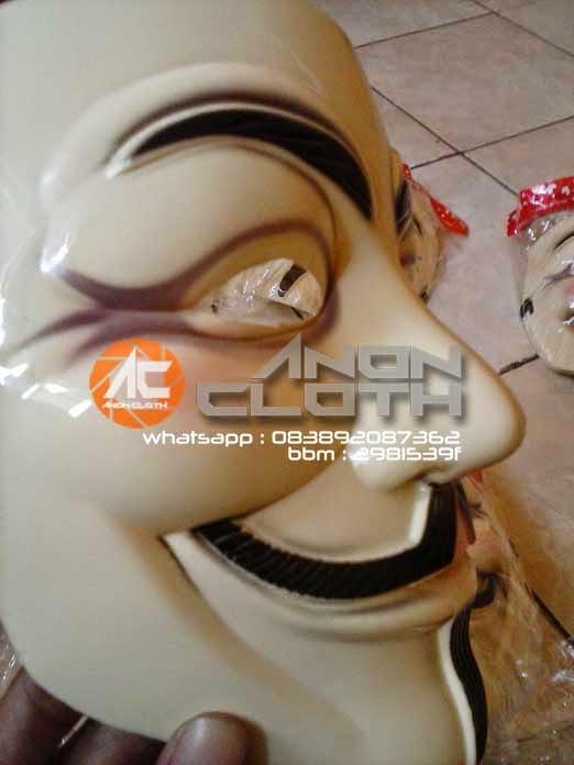 Jual Topeng Anonymous PVC Grosir