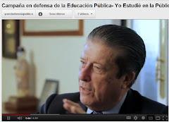 Educación Pública y de calidad