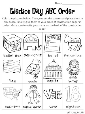Classroom Freebies: Election Day Freebie
