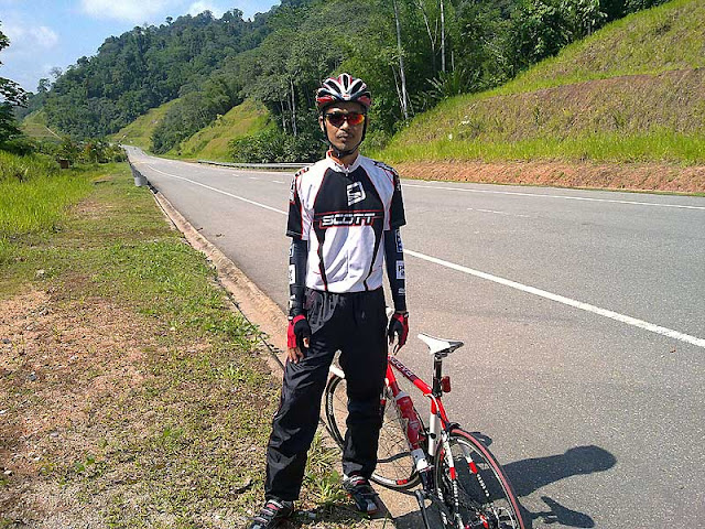 Cycling from Sungai Koyan to Cameron Highland