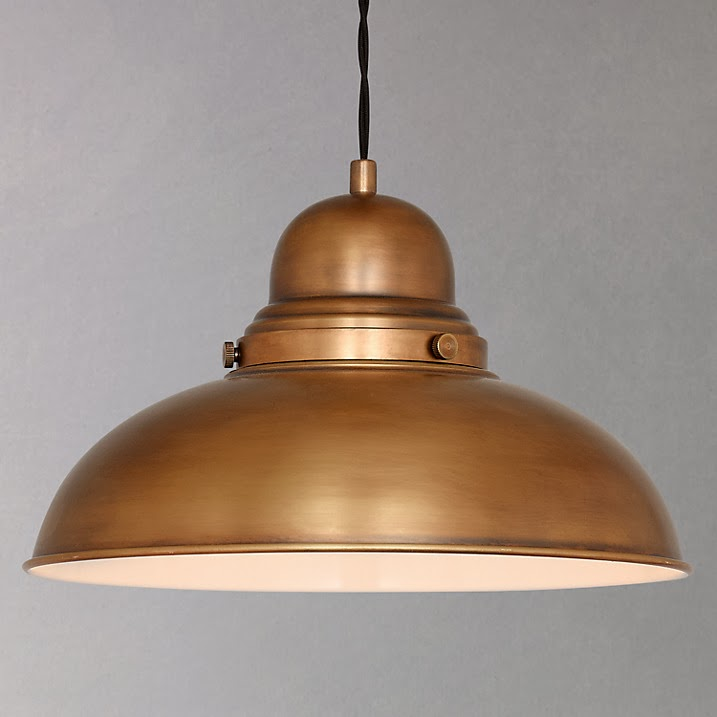 David Dangerous Brass Look Victorian Ceiling Light