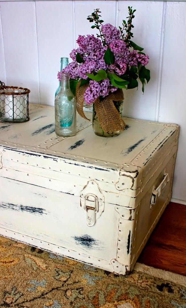 Decoraci n vintage restauraci n y recuperaci n vintage - Baules para guardar ropa ...