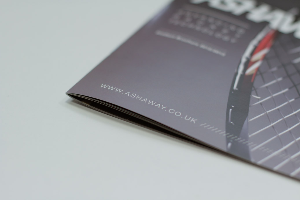 Ashaway & Goode Sport Brochure Design 2012/13