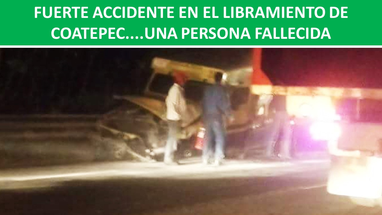 accidente en el libramiento