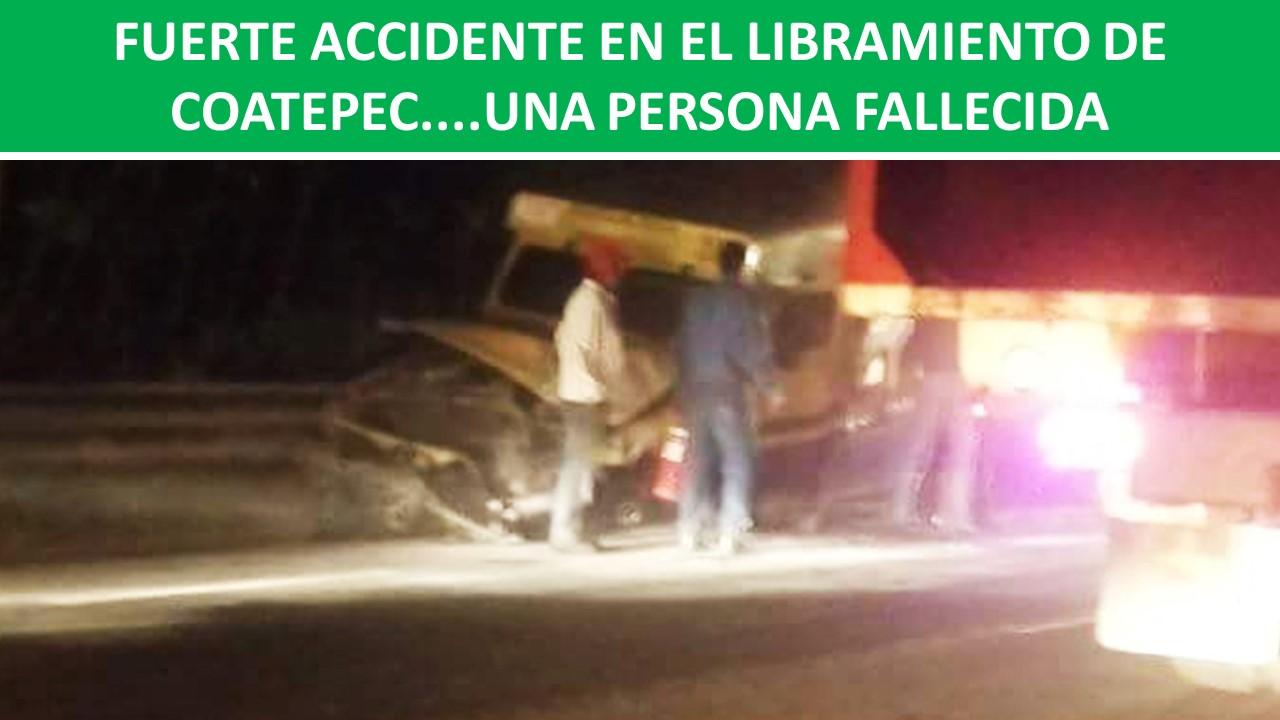 accidente en el libramiento