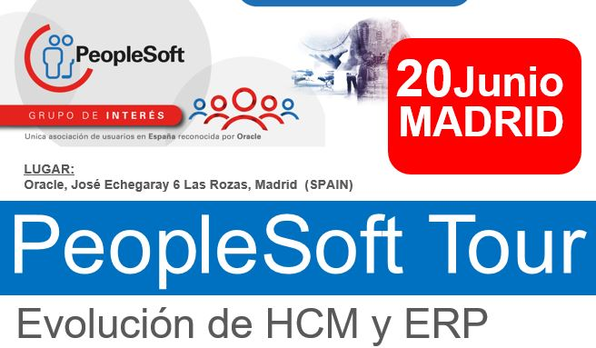 PeopleSoft Tour 20 Junio 2018