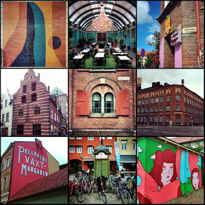 From industrial to colourful, out and about in Malmö