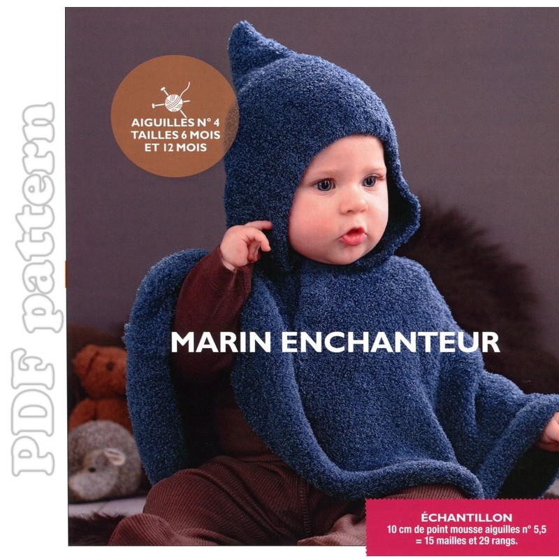 Knitting Pattern Cape Child : HOODED CHILD S PONCHO CROCHET PATTERN   Easy Crochet Patterns