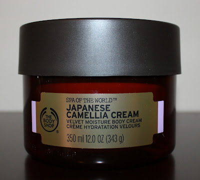 The Body Shop's Spa of the World Japanese Camellia Cream
