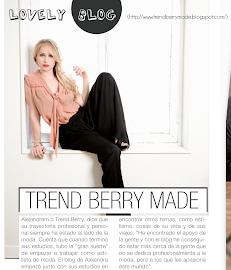 Entrevista a Trend Berry