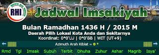 Download Jadwal Imsakiyah Terlengkap Seluruh Kota di Indonesia