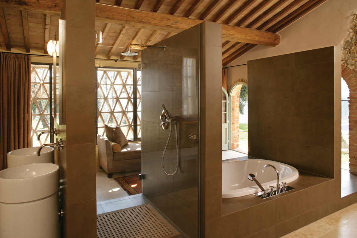 Traditional bathroom design house and home - Designer bathroom ...