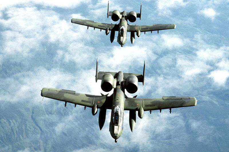 Plane: A-10 Thunderbolt II