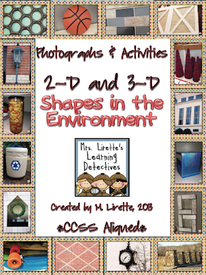 Environmental Print: 2D and 3D Shapes in the environment