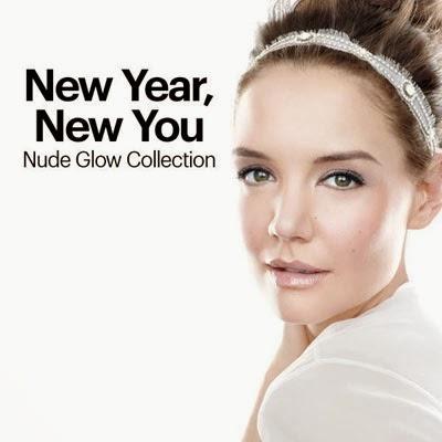 Bobbi Brown colección de maquillaje Nude Glow para 2014 con Katie Holmes