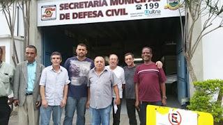 AMAPosse participa de reunião com Defesa Civil de Teresópolis para conscientização e preparação para o período de chuvas