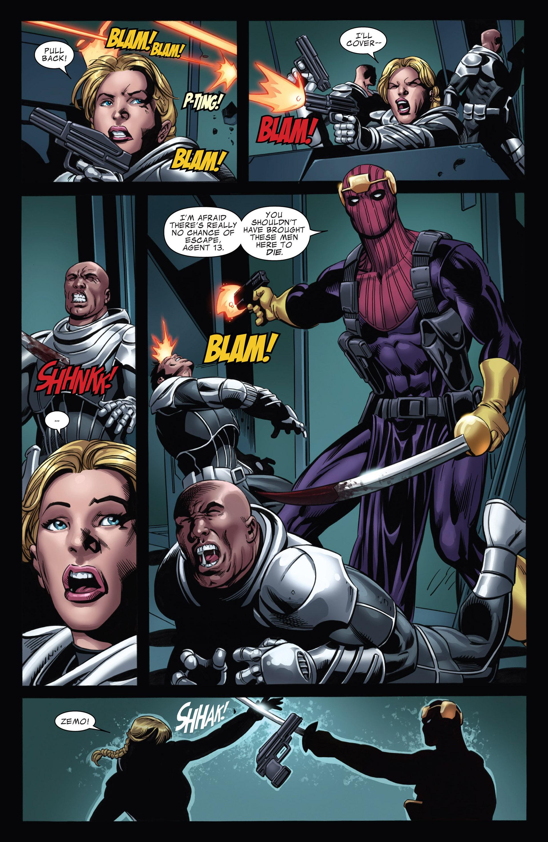 Captain America (2011) Issue #17 #17 - English 19