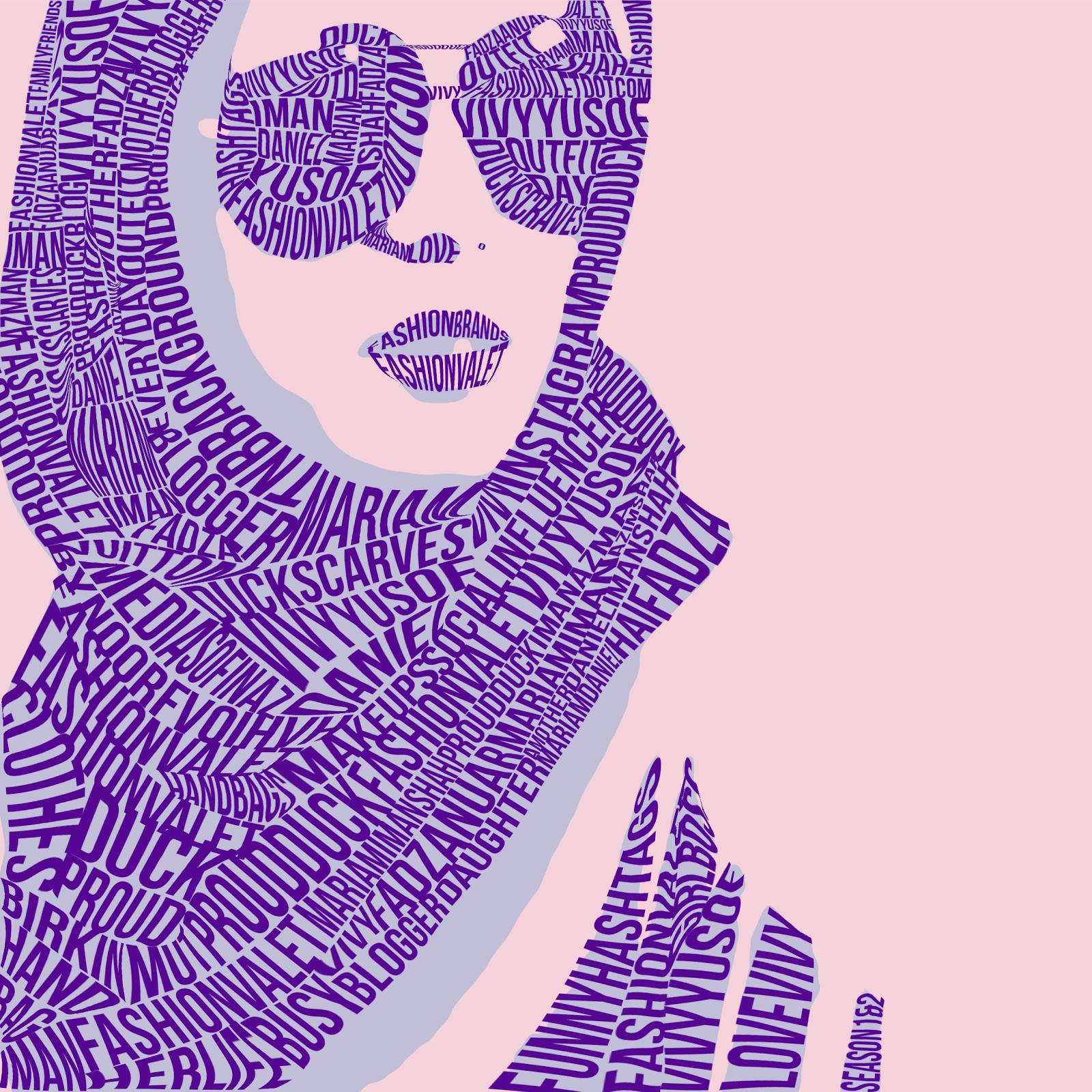 Typography Portrait