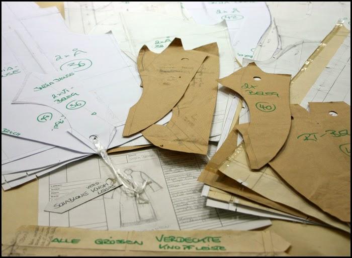 Bekleidungs-Manufaktur Gradieren