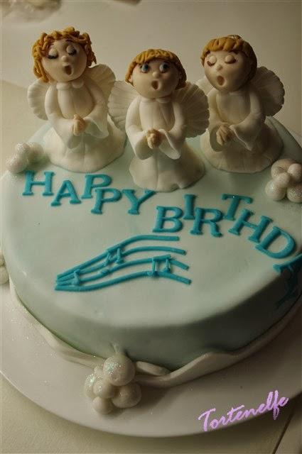 Cake Art Decor Zeitschrift : Tortenelfes Blog - Backe, backe, Kuchen ...: Engeltorte ...
