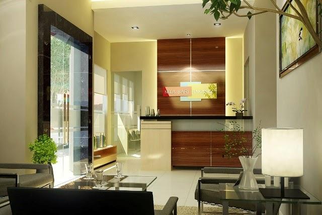 warna cat rumah minimalis bagian dalam desain model gambar