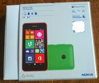 Nokia Lumia 530 Box