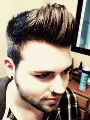 gaya rambut modern pompadour pria 2015_0011245