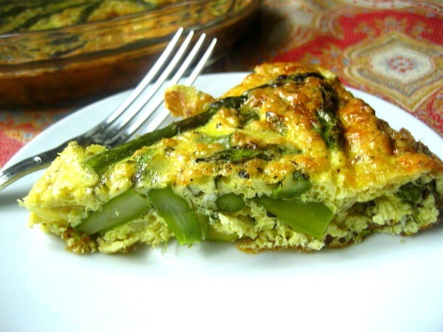 Stacey Snacks: Good Ideas: Asparagus Frittata
