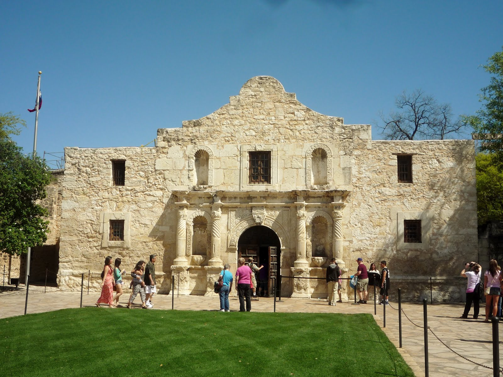 there 39 s no basement in the alamo
