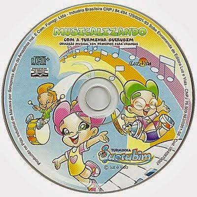 CD Turminha Querubim - Musicalizando