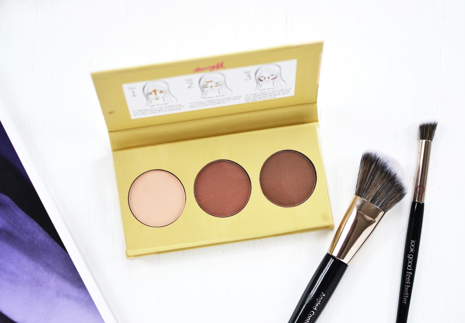 Barry M Flawless Chisel Cheeks Contour Kit