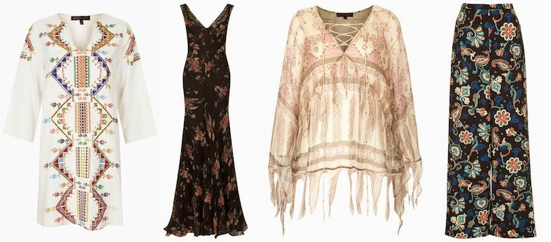 Kate Moss x Topshop, Balearic, Noir, Pajama, Boho, Cocktail