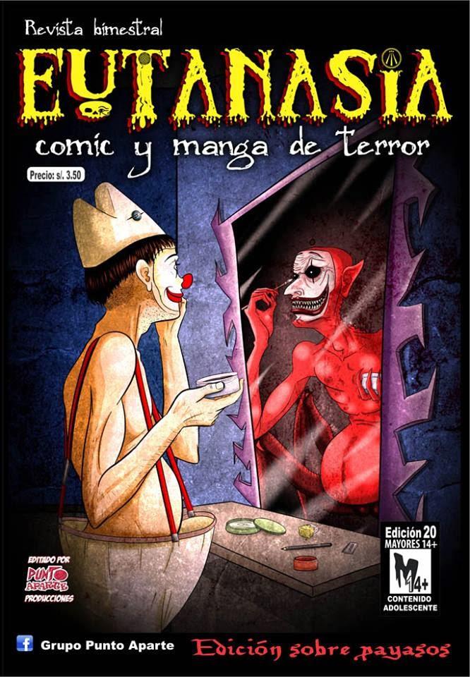 Revista de terror de comic y manga peruano: Eutanasia