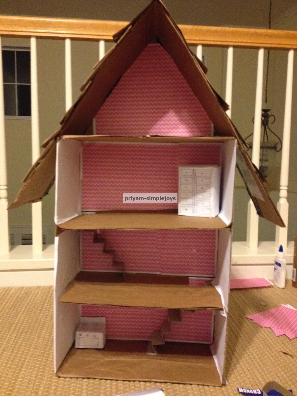 Simplejoys Cardboard Dollhouse