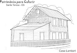 Patrimònio para colorir