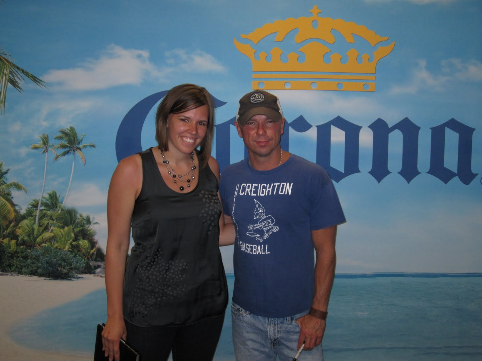 My year as a country music groupie billy currington kenny chesney i asked kenny what his best moment of the year so far is explaining that im asking everyone i meet this year well thats cool baby but no answer kristyandbryce Gallery