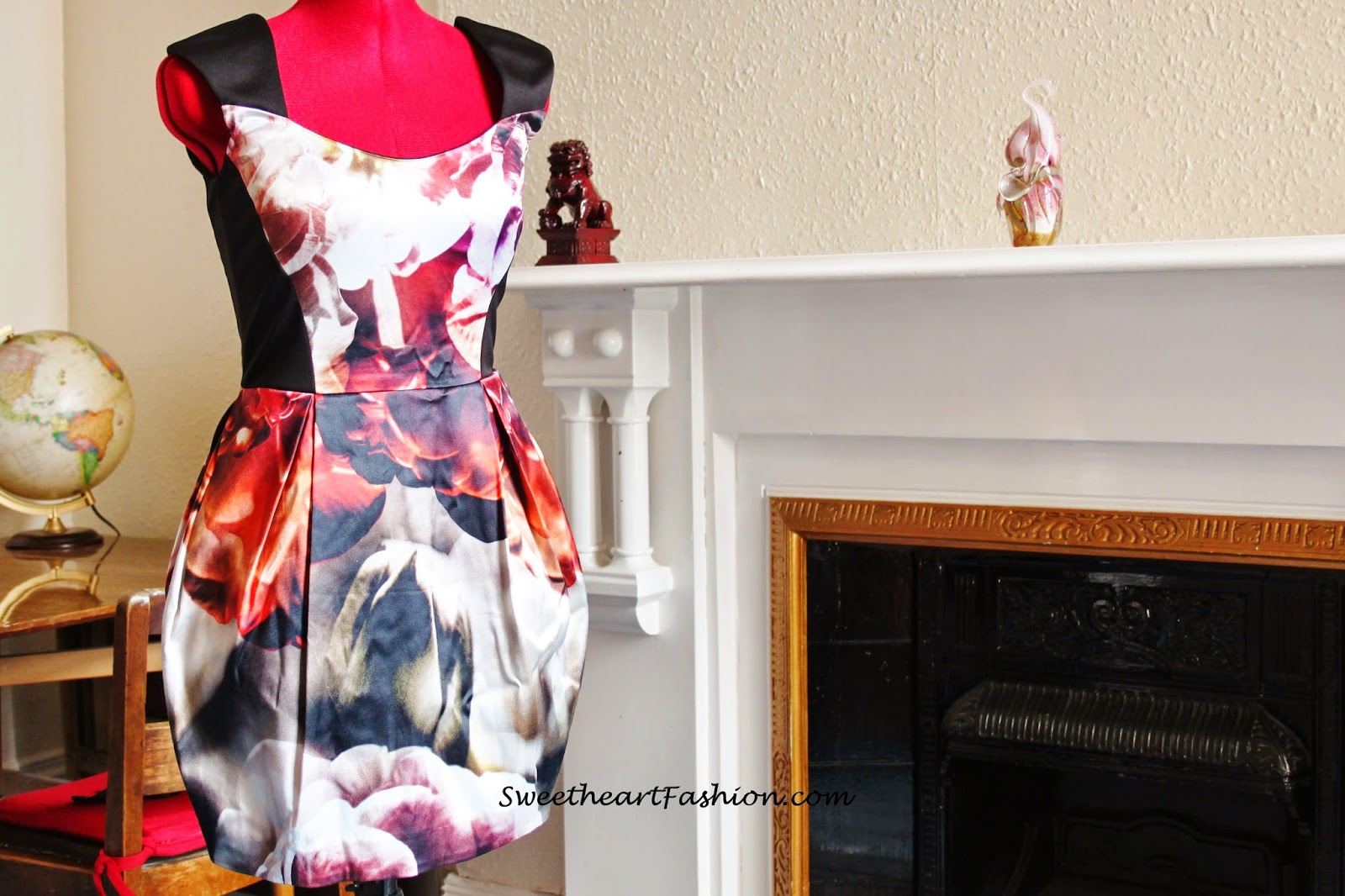 Sweetheart Fashion River Island Floral Dress