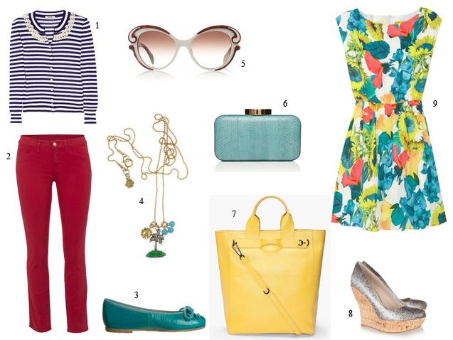 J Brand, Prada, Miu Miu, Moschino, 3.1 Phillip Lim, SS12