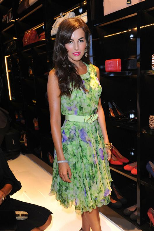 Camilla Belle Floral Dress 2012