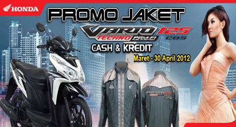 Promo Jaket Vario Techno 125 PGM FI ~ SALES OFFICE TDB | DEALER RESMI