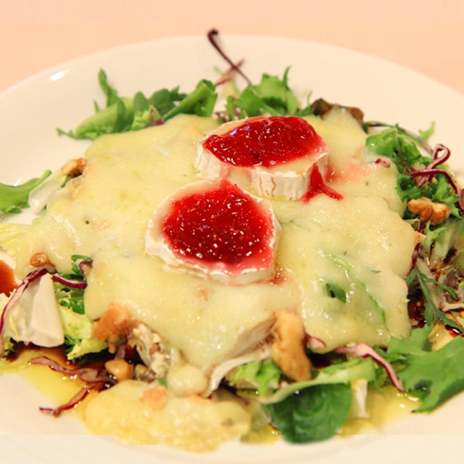 receta, recetaclip, cocina, vídeo, blog, ensalada, queso, frutos secos, fácil, torta,